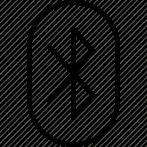 app, bluetooth, communication, file, interaction icon