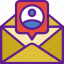 app, communication, envelope, file, interaction, message icon