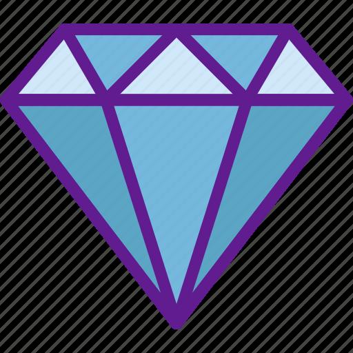 app, communication, diamond, file, interaction icon