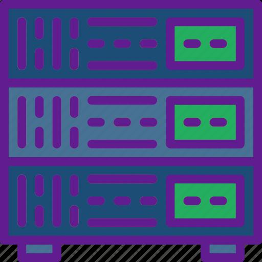 app, communication, file, interaction, serrver icon