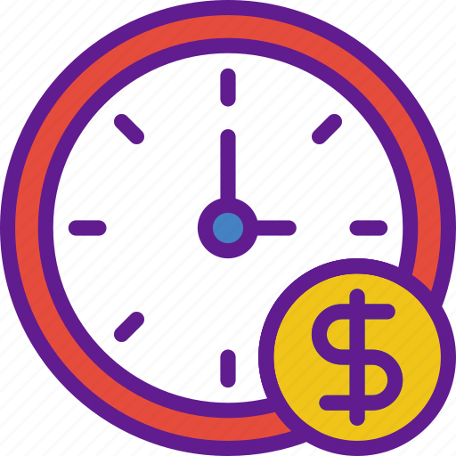 app, communication, file, interaction, is, money, time icon
