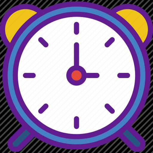 alarm, app, clock, communication, file, interaction icon