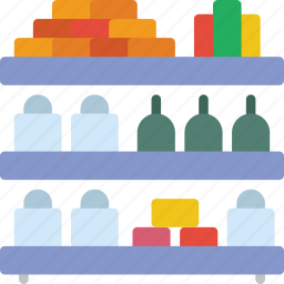 buy, commerce, raft, sale, sell, shopping, supermarket icon