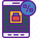 buy, commerce, sale, sell, shopping, tablet icon
