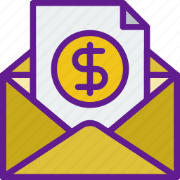 bill, buy, commerce, sale, sell, shopping icon