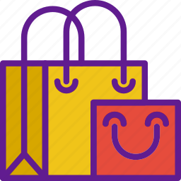 bags, buy, commerce, sale, sell, shopping icon