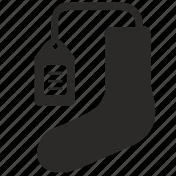 dress, price, socks, tag, wear icon