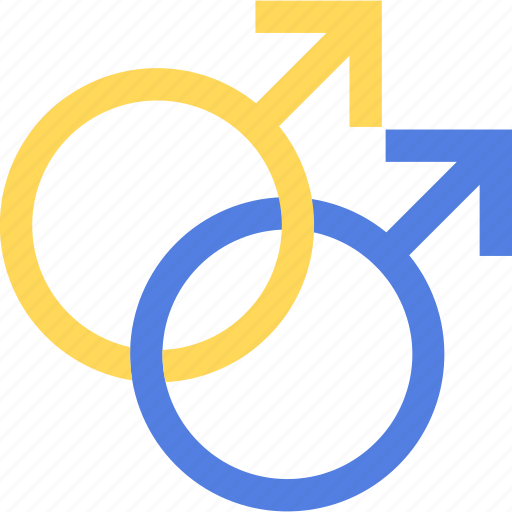 Gay, gender, homosexual, male, sex icon - Download on Iconfinder
