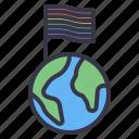 lgbt, pride, celebration, culture, flag, earth, union