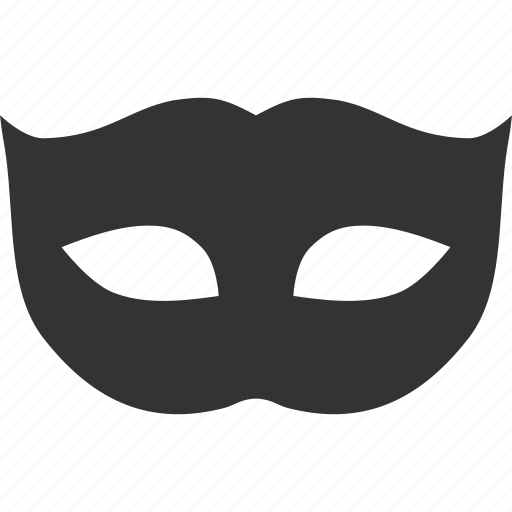 mask, masquerade, password, private, secret, secure, security icon