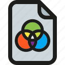 design, paint, paper, print, printer, printing, rgb icon