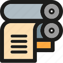 document, documents, paper, print, printer, sheet icon