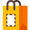 package, print icon