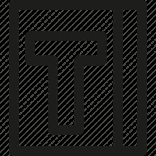 bulletfont, creative, design, font, graphic, type, typography icon