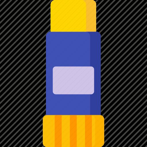 desk, glue, paste, stationery, sticky, tool icon