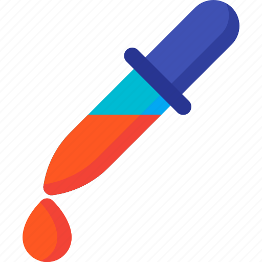 color, design, dropper, paint, picker, scheme icon