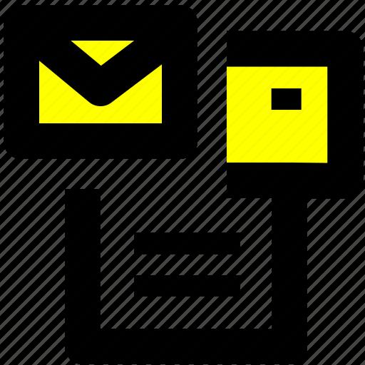 document, office, print, printer icon