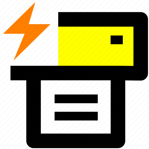 document, office, print, printer, quick print icon