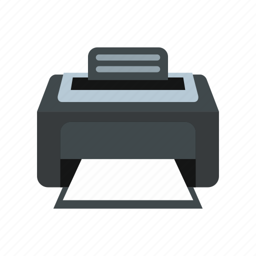equipment, graphic, machine, office, paper, printer, technology icon