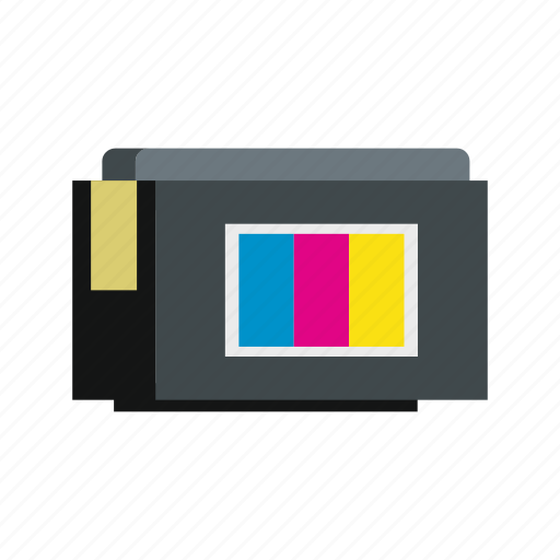 cmyk, container, continuous, ink, printer, supply, system icon