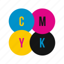 cmyk, graphic, ink, liquid, paint, printer, profile icon