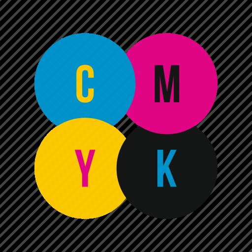 cmyk, graphic, ink, liquid, paint, printer, profile icon