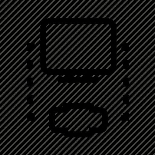 pc, print, printer icon