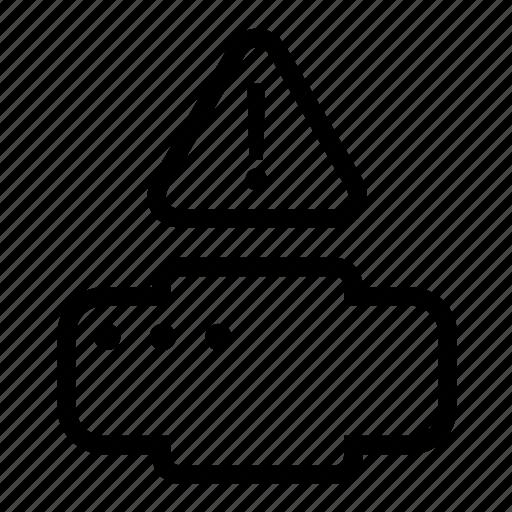 copy, print, printer, warning icon