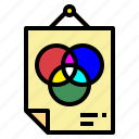 color, print, products, rgb icon