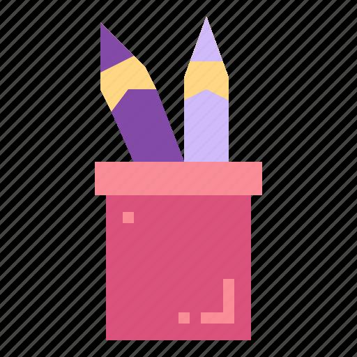 education, pencil, tools, writing icon