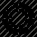 circular, colour, palette, target