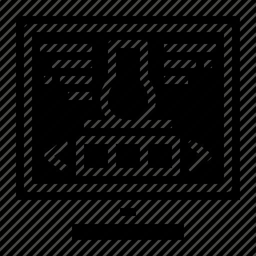 computer, design, programming, software icon