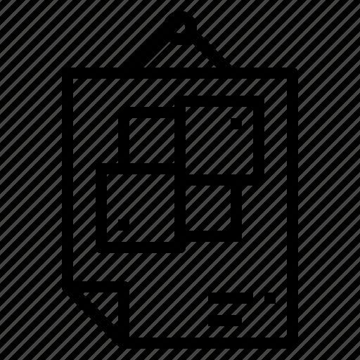 cmyk, colour, print, tools icon