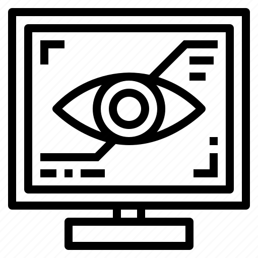 eye, internet, optical, visual icon
