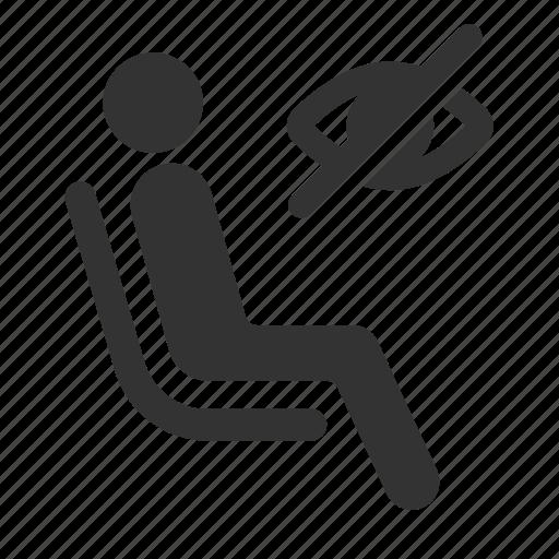 blind, disabilities, disabled, handicap, priority, public transportation, seat icon