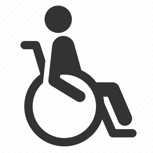 disabilities, disabled, handicap, priority, public transportation, seat, wheelchair icon