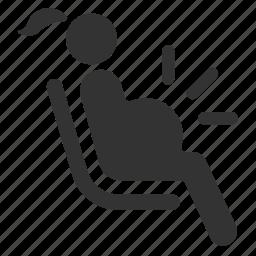 mom, pregnancy, pregnant, priority, public transportation, seat icon