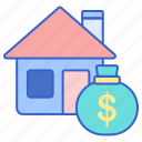 asset, house, money, real estate