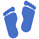 evidence, foot, footprint, track