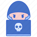 hacker, protection, security, virus icon
