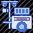 camera, cctv, mobile, surveillance