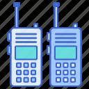 communication, talkie, walkie