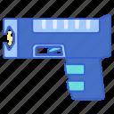 electricity, gun, taser, weapon