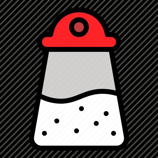 Bottle, salt, salt shaker, shaker, utensil icon - Download on Iconfinder