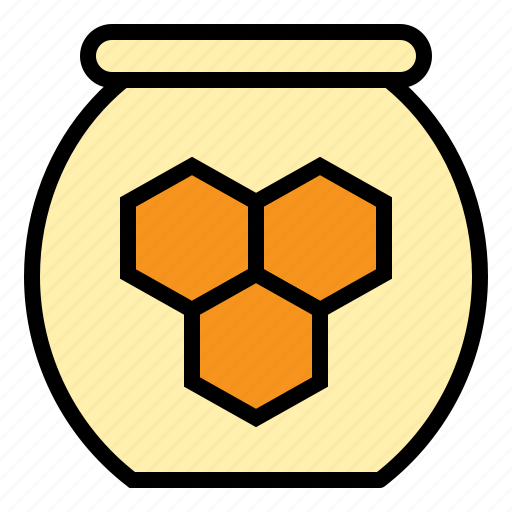 honey, jar, nature, pot, sweet icon