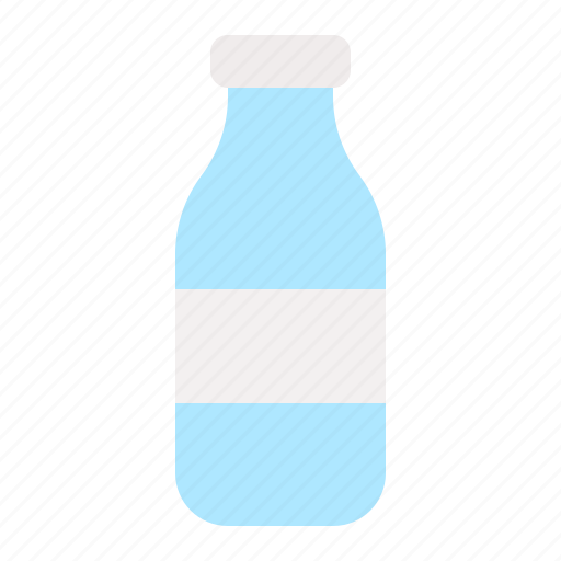 Beverage, bottle, container, drinks, glass, processed, water icon - Download on Iconfinder