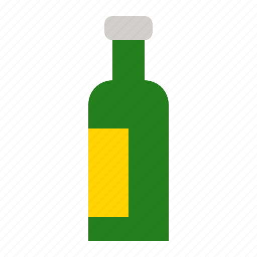 beverage, bottle, container, drinks, glass, processed icon