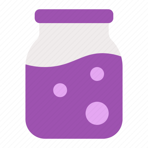 Bottle, container, glass, jam, jar, processed, sauce icon - Download on Iconfinder