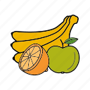 fruit, organic, tropical, vegetarian icon