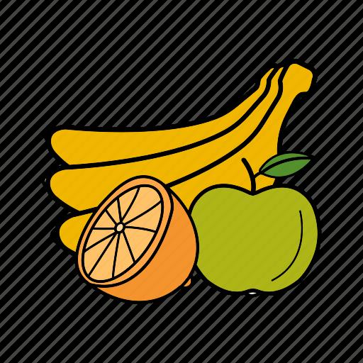 fruit, organic, tropical, vegetarian icon